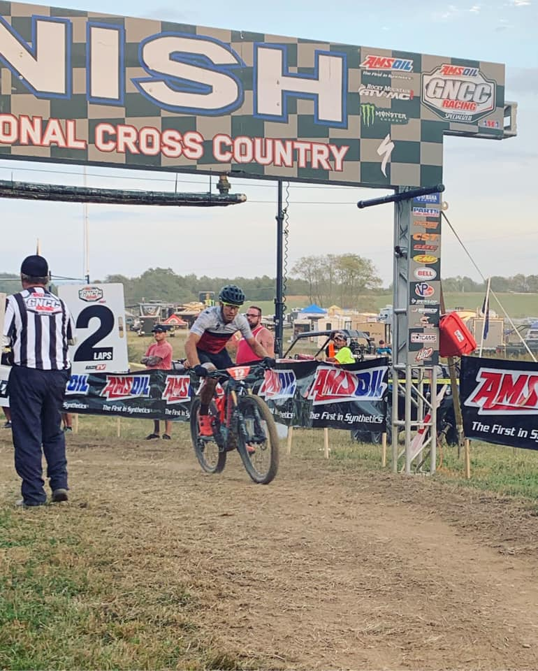 Mountain Bike Race winner in West Virginia