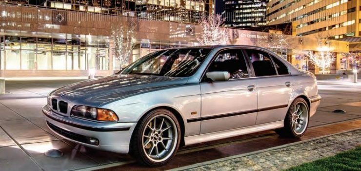 400,000 mile BMW uses only Amsoil