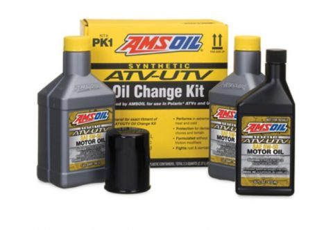 ATV and UTV oil change kits for Polaris