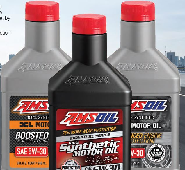 Advance synthetic oils for all cars.