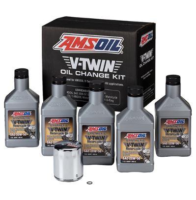 V-Twin Oil Change Kit (HDMC)